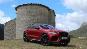 Jaguar F-Pace SVR 2020 : traitement royal
