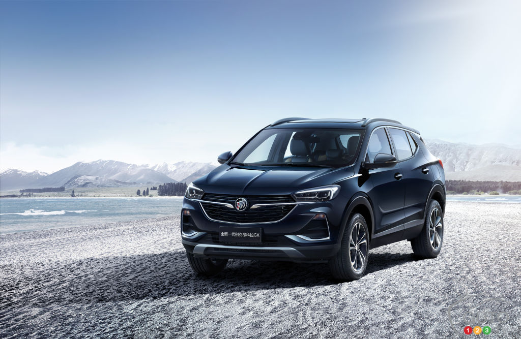 The longer Buick Encore GX coming to North America | Car ...