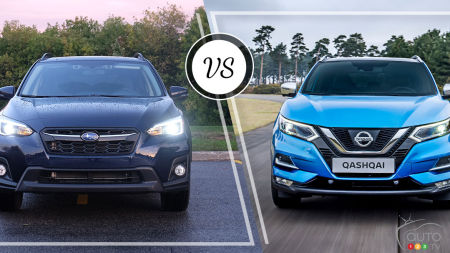 Comparison: 2019 Nissan Qashqai vs 2019 Subaru Crosstrek