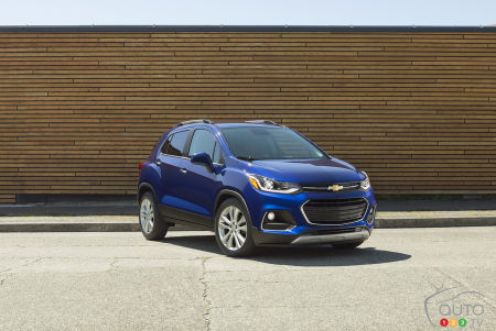 GM Is Recalling 113,000 Chevrolet Trax