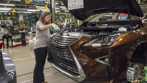 The Lexus NX Will Be Built in Canada as of 2022