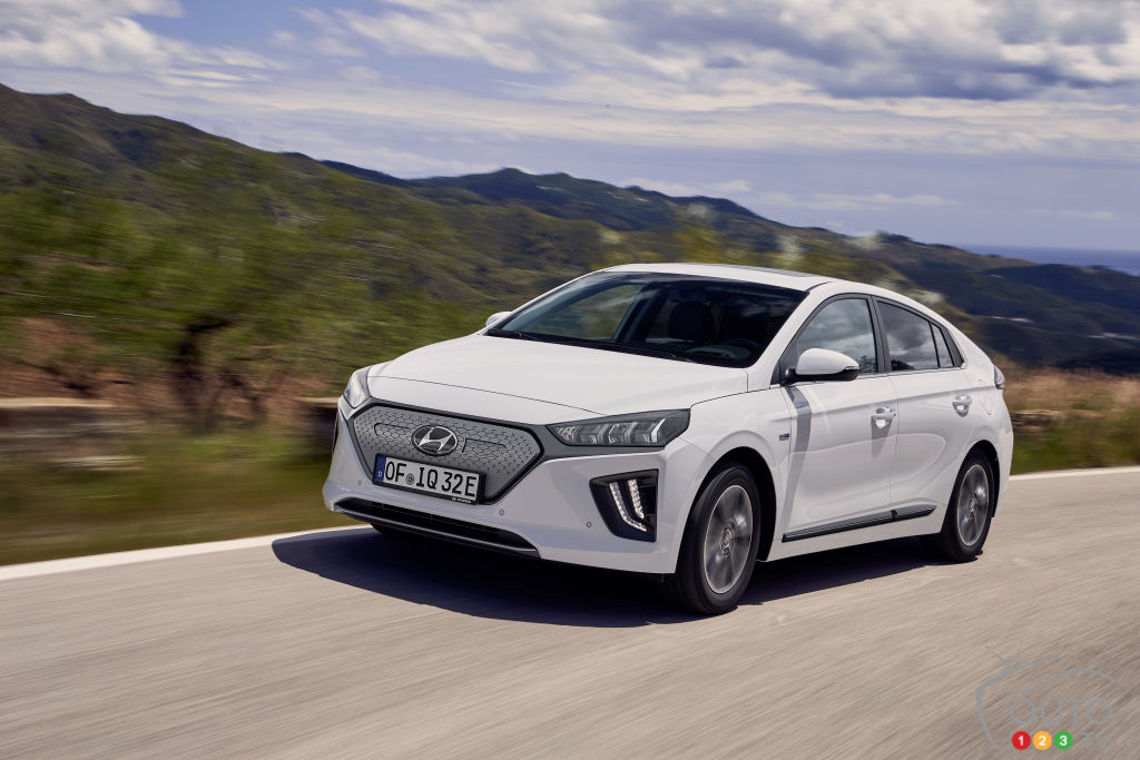 More Range and Faster Charging for 2020 Hyundai IONIQ Electric