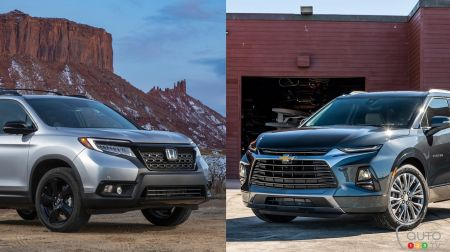 Comparison: 2019 Chevrolet Blazer vs 2019 Honda Passport