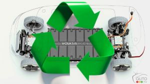 Volkswagen Unveils Strategy For Recycling EV batteries