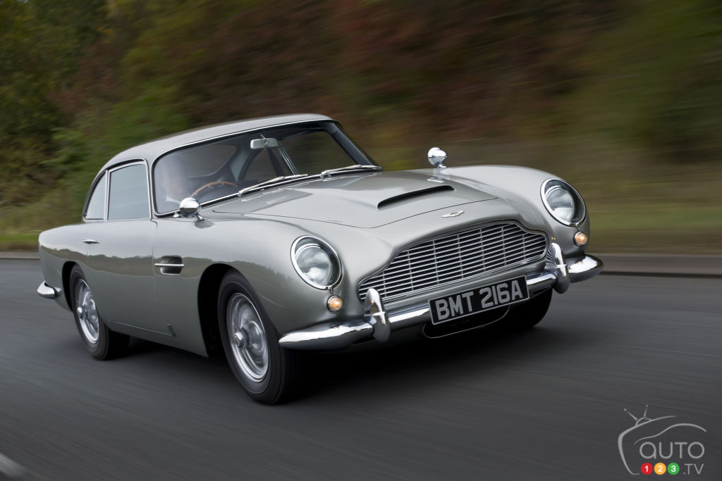 Aston Martin Will Build 25 replicas of James Bond's DB5 from Goldfinger