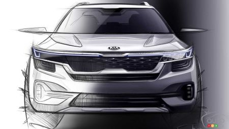 Kia Teases Two Images of its Upcoming Global Small SUV
