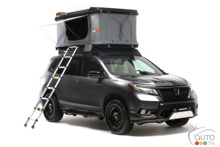 Honda Presents Passport Fitted for Overland Adventures