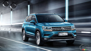 Volkswagen Working on Sub-Tiguan SUV for North America