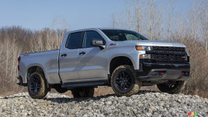 2020 Chevrolet Silverado 1500 Custom Traill Boss
