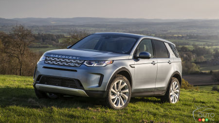 Land Rover Unveils the 2020 Discovery Sport