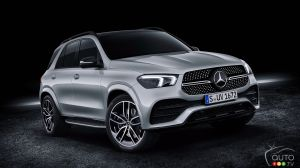 A V8 and Light-Hybrid System for the 2020 Mercedes-Benz GLE580