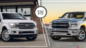 Comparaison : Ford  F-150 2019 vs RAM 1500 2019