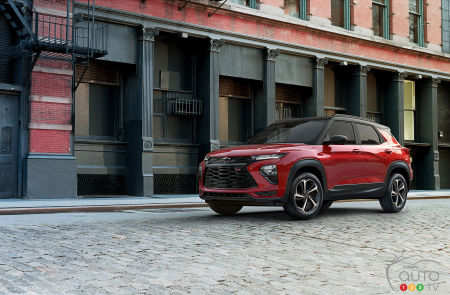 Chevrolet unveils North American 2021 Trailblazer | Car ...