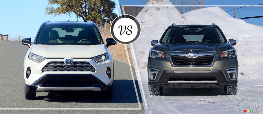 Comparison: 2019 Subaru Forester vs 2019 Toyota RAV4
