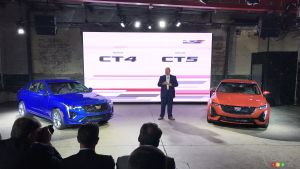 Cadillac Unveils CT4-V and CT5-V Performance Sedans