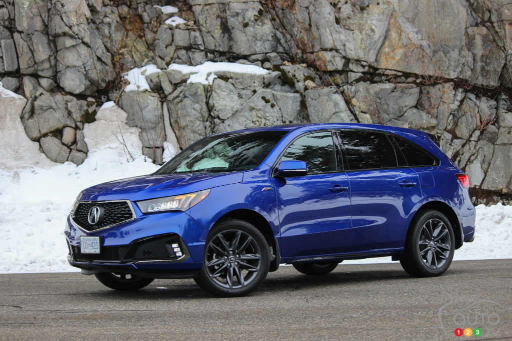 2019 Acura MDX A-Spec Review: Strut Your Stuff