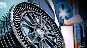 GM and Michelin to Work together on Developing an Airless Wheel