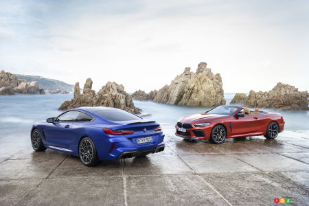 BMW Confirms 617 hp for its 2020 M8