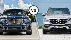BMW X5 2019 / Mercedes-Benz GLE 2019