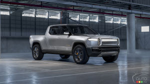 Rivian's Electric Trucks Will Be Able to Charge Each Other