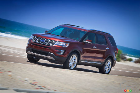 Ford Recalling 1.2M Explorers and Over 100,000 F-150s