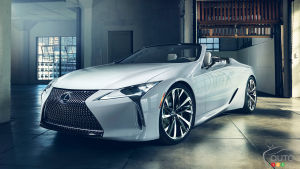 Lexus to Present an LC convertible at Goodwood Festival
