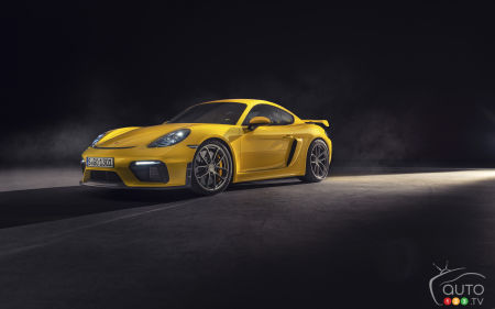 Naturally Aspirated 6-Cylinders for 2020 Porsche 718 Cayman GT4 and 718 Spyder