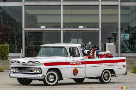 Honda restores a 1961 Chevrolet Apache 10 to Mark its Beginnings in North America 60 Years Ago
