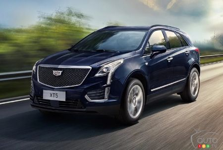 Refreshed 2020 Cadillac XT5 Revealed in China