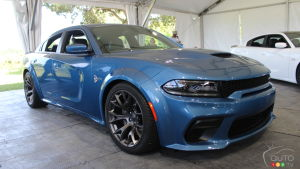 Dodge Reveals Widebody SRT Version of Charger Scat Pack and Hellcat