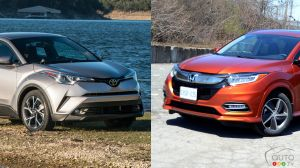 Comparison: 2019 Honda HR-V vs 2019 Toyota C-HR