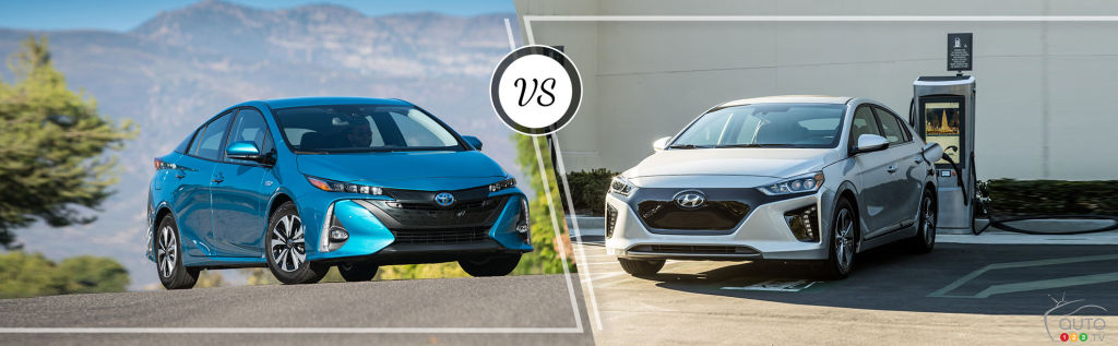 Comparison: 2019 Hyundai IONIQ Electric Plus vs 2019 Toyota Prius Prime