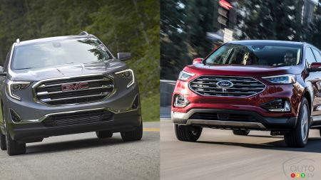 Comparison: 2019 Ford Edge vs 2019 GMC Terrain