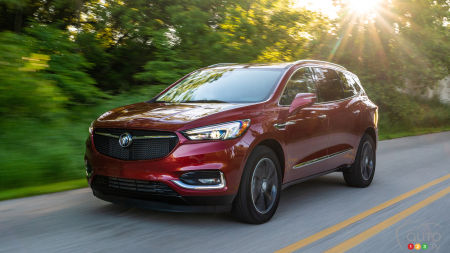 2020 Buick Enclave Gets a New Version and Massaging Seats