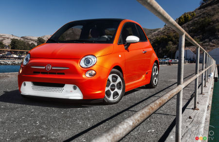 FCA Wants to Produce 80,000 Electric Fiat 500s annually
