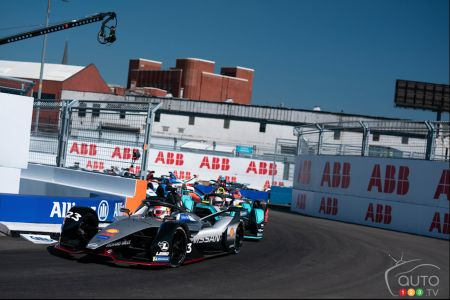 Formula E Season Wraps up in the Big Apple