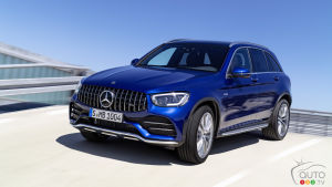 Boost in Power for the 2020 Mercedes-AMG GLC 43