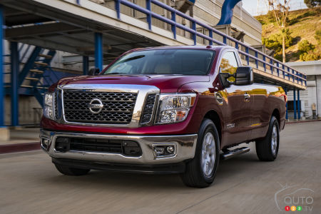 Nissan Recalling 91,319 Titan Pickup Trucks