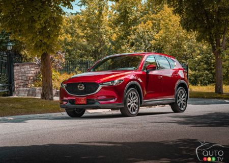 Mazda Canada Prices Diesel Version of the 2019 CX-5