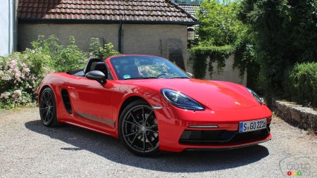 First Drive of the 2020 Porsche 718 Boxster T: A-Touring We Will Go