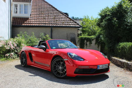 Premier essai de la Porsche 718 Boxster T 2020: on part en Touring