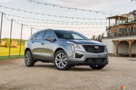 2020 Cadillac XT5 Gets Updated Look, More Amenities and New Trim Names