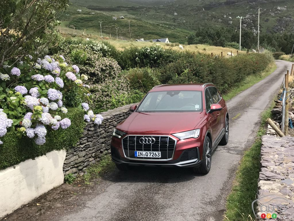 2020 Audi Q7 First Drive: From pachyderm to athlete!