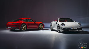 Porsche Presents 2020 911 Carrera Coupe and Cabriolet Variants