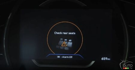 Hyundai to Make Rear Occupant Alert System Standard on all Models by 2022