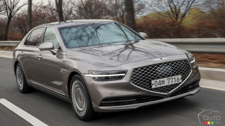 Canadian Pricing, Details for the 2020 Genesis G90 sedan