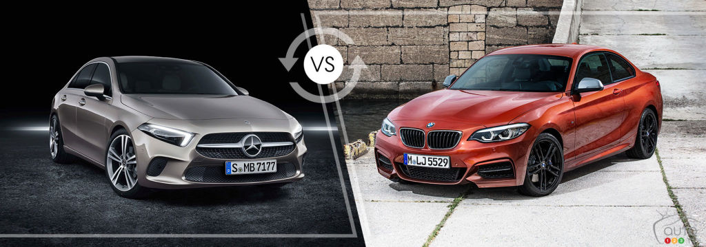 Comparison: 2019 BMW 2 Series vs 2019 Mercedes-Benz A-Class