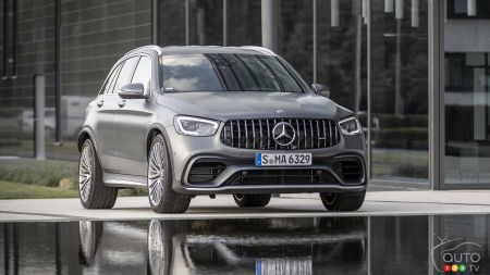 2019 Mercedes-AMG GLC 63 S Review: Wacky