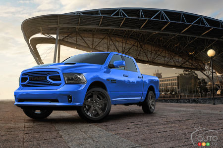 Ram Issues Recall of… One Single Truck