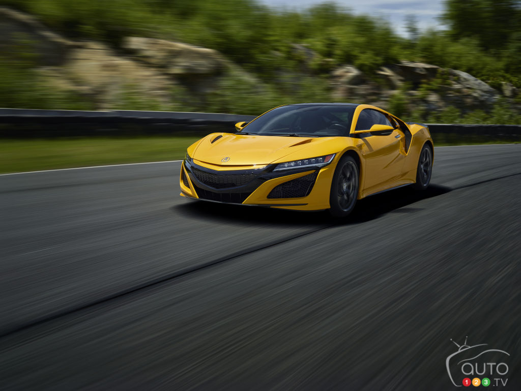 Two New Colours to Make the 2020 Acura NSX More Desirable